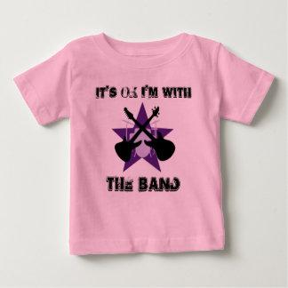 それは私によってがバンドとあるOkです ベビーTシャツ