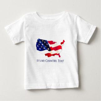 それは私の国、余りにです! ベビーTシャツ