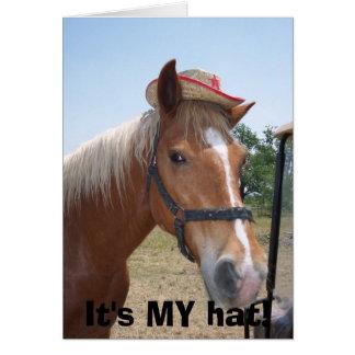 それは私の帽子です! カード