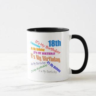 それは私の第18誕生日プレゼントです マグカップ
