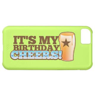 それは私の誕生日の応援です! ビール! iPhone5Cケース