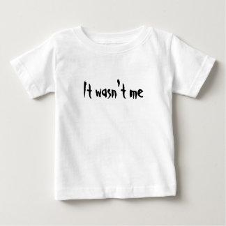 それは私-子供のTシャツではなかったです ベビーTシャツ
