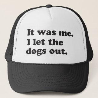 それは私、私放ちました犬破裂音文化ユーモアをでした キャップ