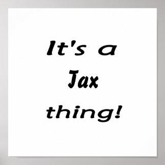 それは税の事です! ポスター