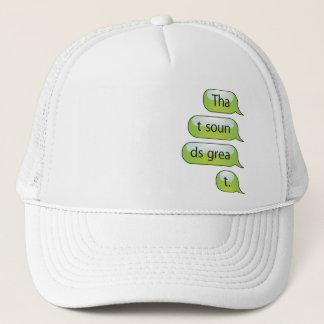 それは素晴らしいトラック運転手の帽子を鳴ります キャップ