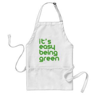 それは緑である簡単です スタンダードエプロン