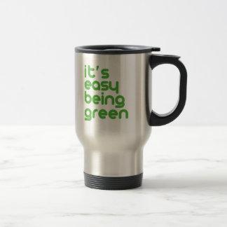 それは緑である簡単です トラベルマグ