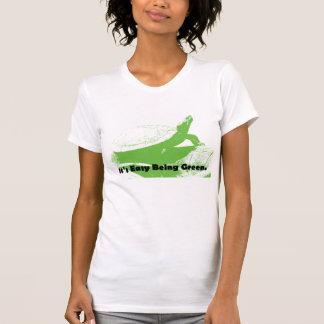 それは緑である簡単です Tシャツ