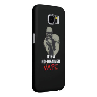 それは能なしのVapeの黒です Samsung Galaxy S6 ケース