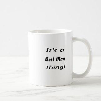 それは花婿介添人の事です! コーヒーマグカップ