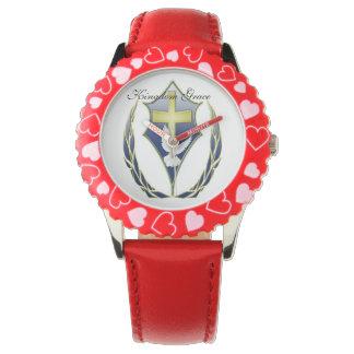 それは若い王国の皇族でよく見ます 腕時計