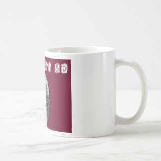 それは赤の私ではなかったです コーヒーマグカップ