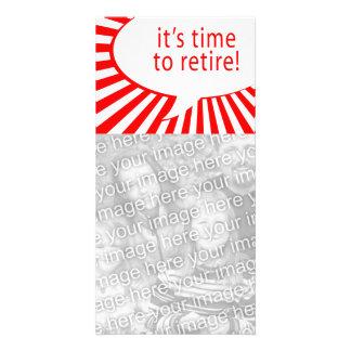 それは退職する時間です! (喜劇的な泡) カード