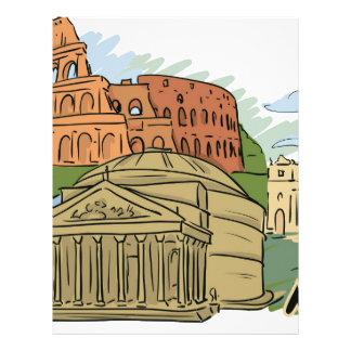 それは1日(ローマ)に造られませんでした レターヘッド