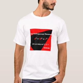それは1、2の3つの赤いメンズTシャツ容易です Tシャツ