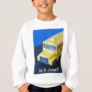 それは6月ですか。 スウェットシャツ