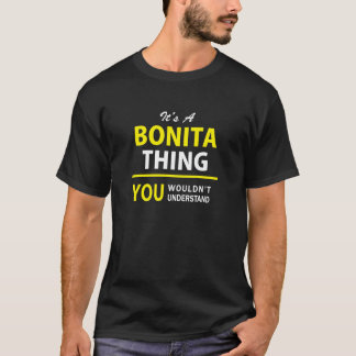 それはA BONITAの事、理解しませんです!! Tシャツ