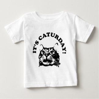 それはCaturdayです ベビーTシャツ