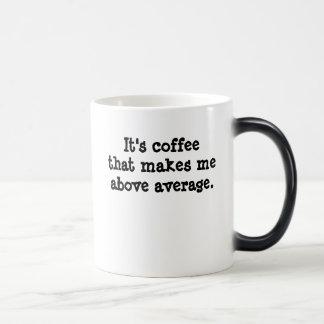 それはcoffeethat作ります平均の上の私をです マジックマグカップ