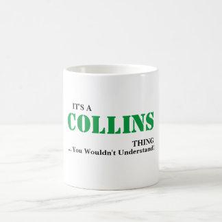 それはCOLLINSの事です! 理解しません コーヒーマグカップ