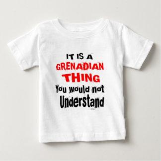 それはGRENADIAN事のデザインです ベビーTシャツ