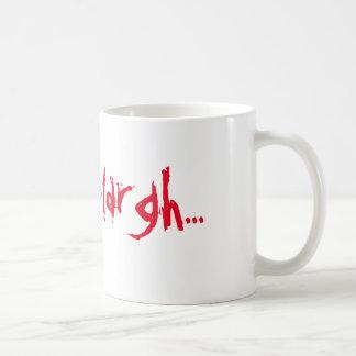 それらののためのマグBlargh… 幾日 コーヒーマグカップ