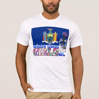 それらのニューヨーカーの女の子か。 Tシャツ