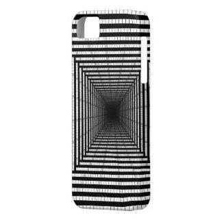 それらの熱狂するで黒い正方形 iPhone SE/5/5s ケース