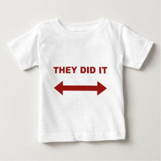 それらはそれをしました ベビーTシャツ