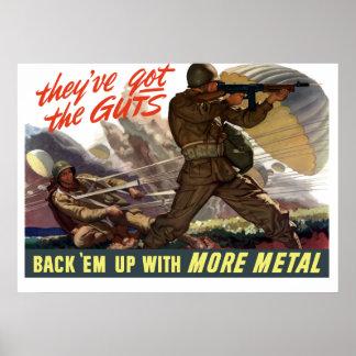 それらは内臓を持っています -- 第2次世界大戦 ポスター