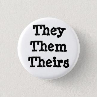 それらまたはそれらまたは彼等の物代名詞ボタン 缶バッジ