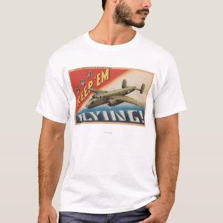 それらをFlying/B-25中型爆撃機保って下さい(飛行機) Tシャツ