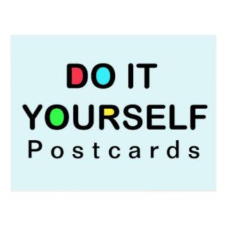 それをあなた自身~の郵便はがきして下さい ポストカード