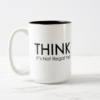 それをありません違法けれどもおもしろいな政治マグが考えて下さい ツートーンマグカップ