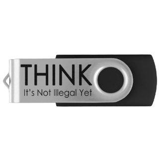 それをありません違法けれども親指ドライブが考えて下さい USBフラッシュドライブ