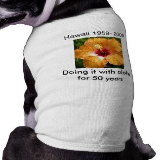 それをとのするハワイの~アロハ ペット服