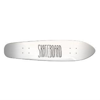 それをシンプルなスケートボード保って下さい 21.6CM オールドスクールスケートボードデッキ