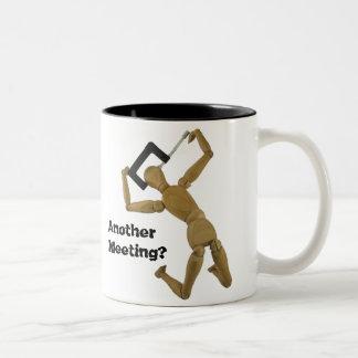 それをストップ! コーヒー・マグ ツートーンマグカップ