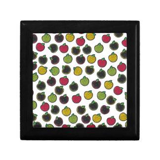 それをチョークで書いて下さい! りんご-黒板パターン ギフトボックス