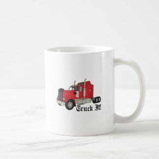 それをトラックで運んで下さい! コーヒーマグカップ