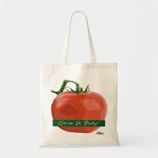 それをベビー育てて下さい! -トマトのトート トートバッグ