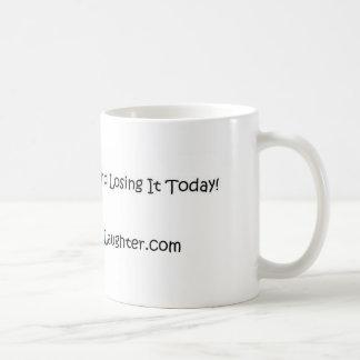 それを今日愛し、笑わせ、そして失い始めて下さい! コーヒーマグカップ