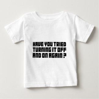 それを再度そしてつけて下さい ベビーTシャツ