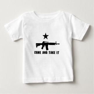 それを取ります来て下さい ベビーTシャツ