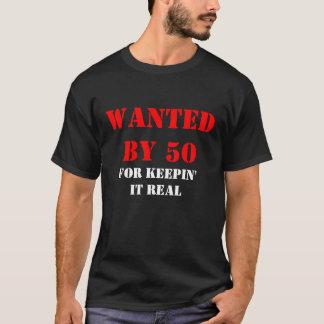それを実質50、なぜなら保つことによって望まれる Tシャツ