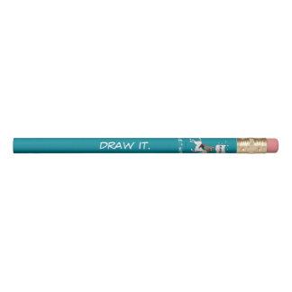 それを引いて下さい。 それを起こらせます 鉛筆