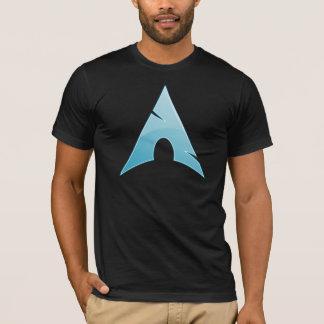 それを愚かなシンプル-アーチのLinux保って下さい Tシャツ