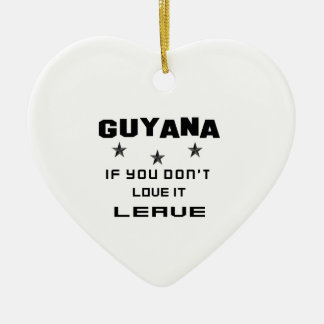 それを愛さなければガイアナ、許可 セラミックオーナメント