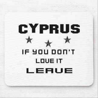 それを愛さなければキプロス、許可 マウスパッド