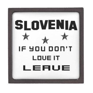 それを愛さなければスロベニア、許可 ギフトボックス